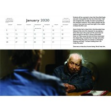 WALL CALENDAR 2020 NEITHER WOLF NOR DOG - FREE SHIPPING